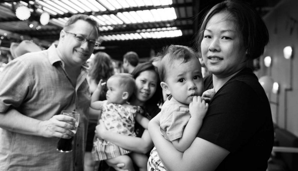 A birthday party at Tin Hill Social, photo by birthday party photographer Shilton Tan.