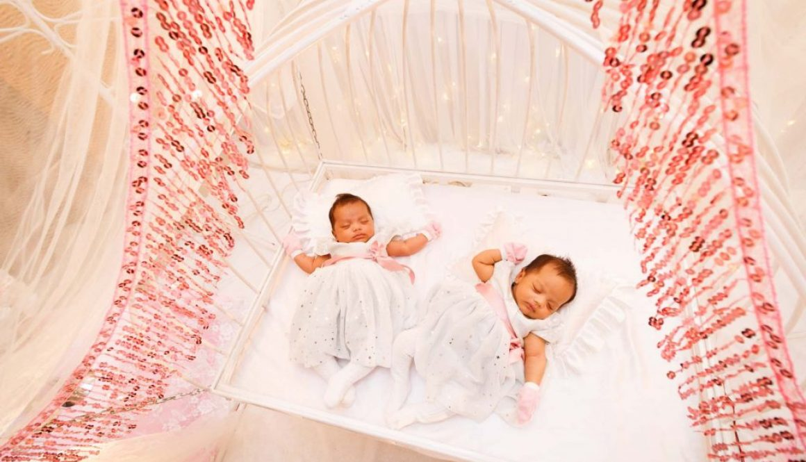 Babies at a Malay baby shower, baby shower photography by Singapore photographer Shilton Tan.