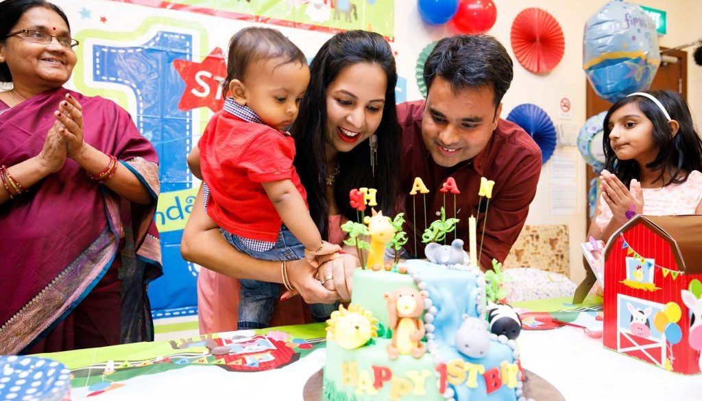 Ishaans 1st Birthday