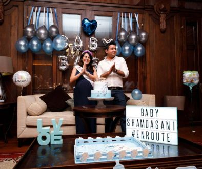 A baby bash in Singapore.