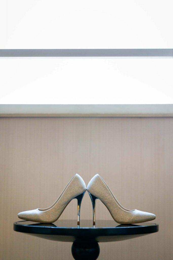 A pair of heels.