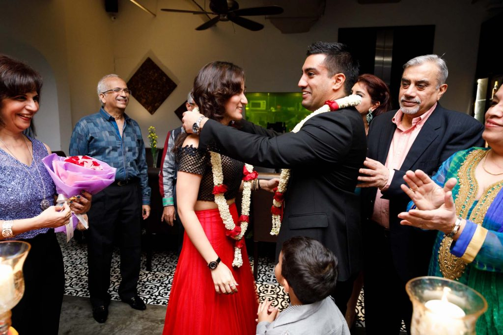 A wedding engagement party at Earl Of Hindh.