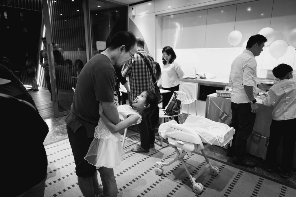 A Baby Shower in Singapore.