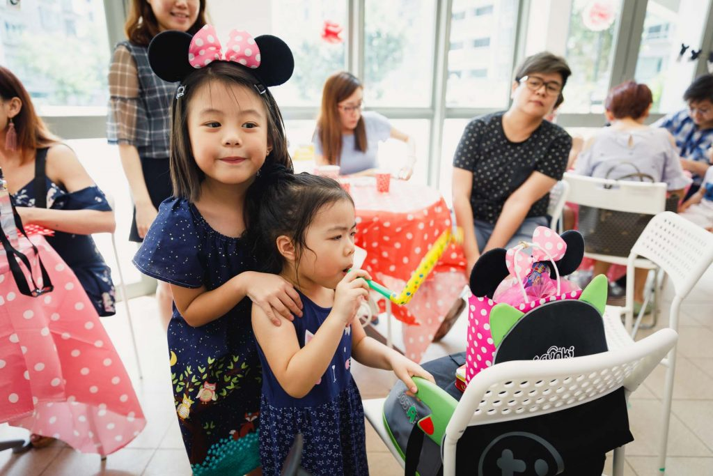 A birthday party in Singapore.