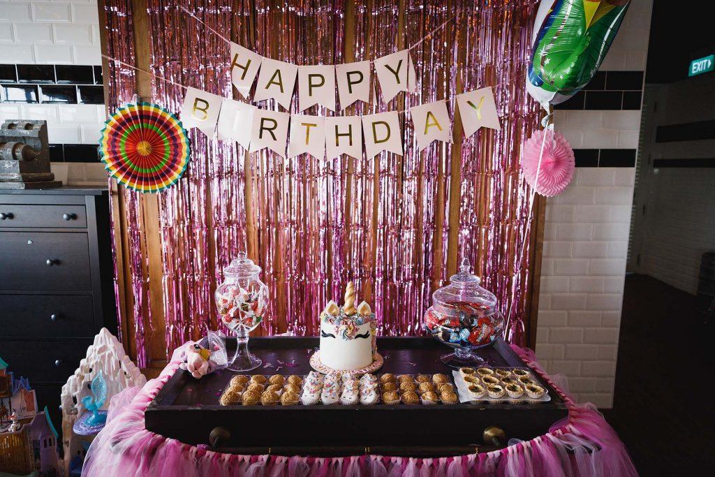A birthday party at Ola Beach Club.