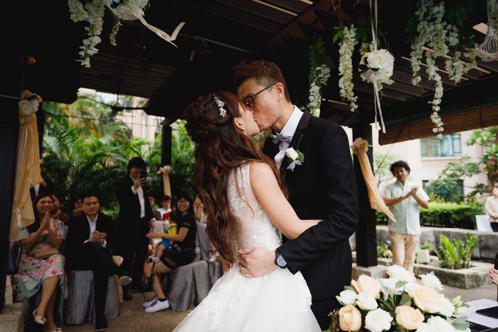 A wedding at Swissôtel Merchant Court.