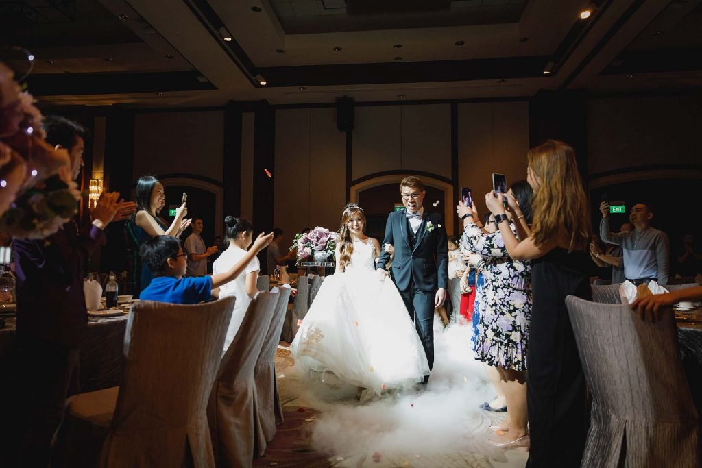 A wedding at Swissôtel Merchant Court.