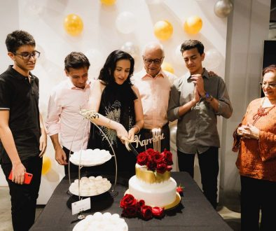 A surprise birthday party at Maison Miaja, planned by Never Ending Ideas.