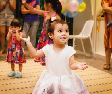 A birthday party in Singapore with activities by Musey Dehsey.