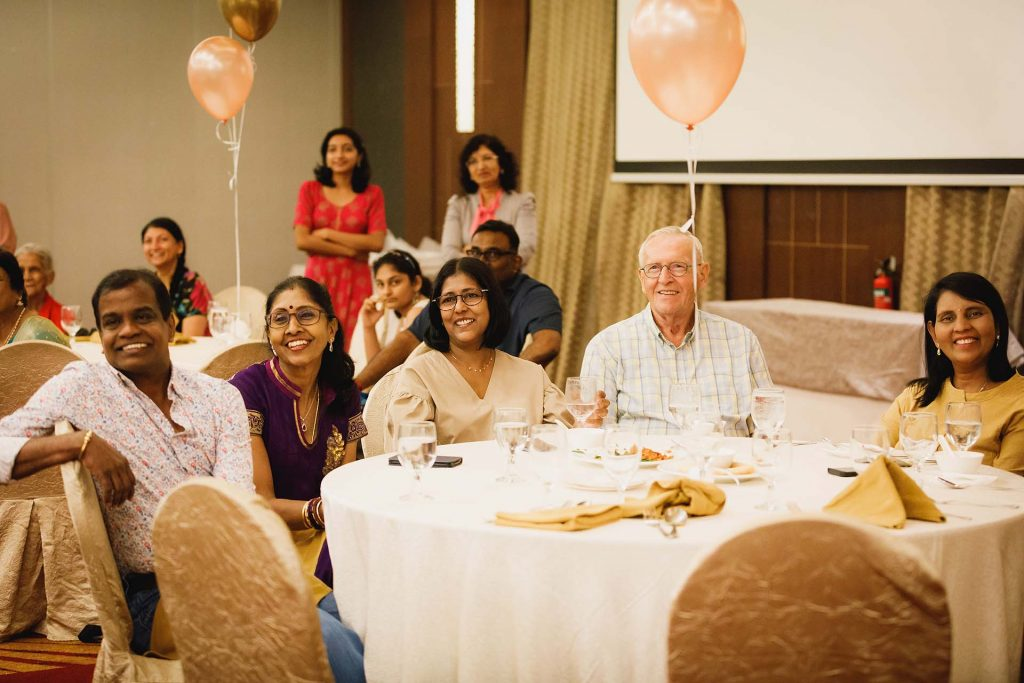 A birthday party at Serangoon Gardens Country Club.